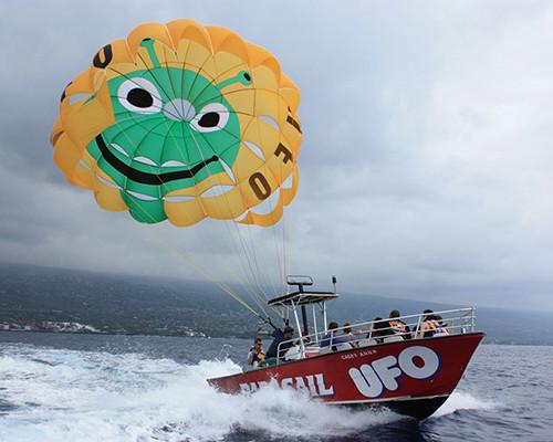 ufo parasail kona